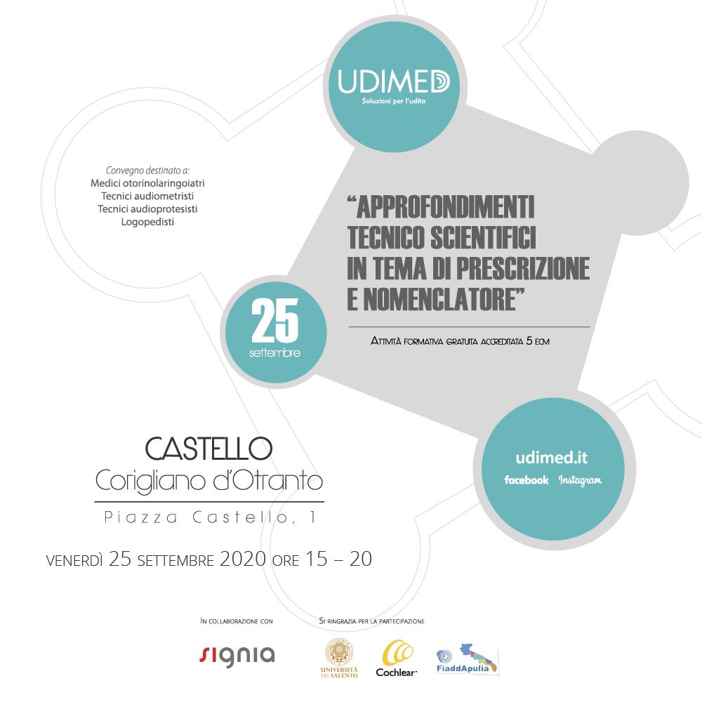 Nuovo appuntamento con la formazione: tutto sul convegno scientifico ECM organizzato da Udimed!
